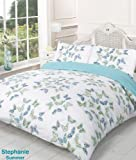Viceroybedding Stephanie Reversible Summer Butterfly Single Bed Size Duvet Cover Set