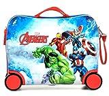 Disney ABS Maleta Rigida Cabina Ruedas Trolley Convertible en Mochila (02 Avengers)