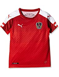 PUMA Kinder Trikot Austria Home Replica Shirt