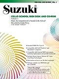 Suzuki Cello School, Volume 1: Piano Accompaniment to Suzuki Cello School [With 3.5 Disk]