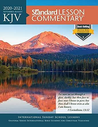 Best Free Kindle Books 2021 KJV Standard Lesson Commentary® 2020 2021 eBook: Standard