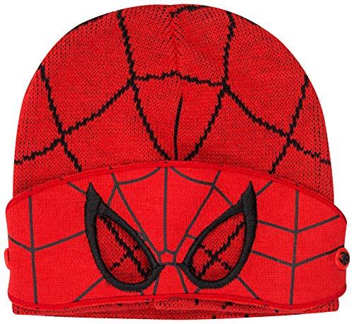 (Paw Patrol. Mütze Schal und Handschuh Set Kinder Wintermützen für Mädchen und Jungen Mütze Marvel Avengers Spiderman Frozen Anna Elsa (SpidermanMütze))