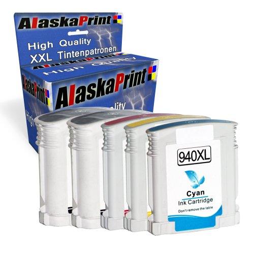 Premium 5er Set Kompatible Tintenpatronen Als Ersatz für HP 940XL MultiPack Mit...
