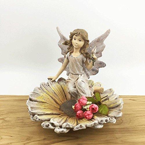 Geschenk Schmuck Kunsthandwerk benutzerdefinierte kreative Ornamente 7 Garten Blumen Fee Blumentöpfe (Benutzerdefinierte Winter-handschuhe)
