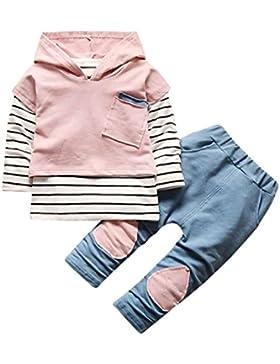 LILICAT Kleinkind Kinder Unisex Baby Junge Mädchen Outfits Mit Kapuze Hooded Sweatshirt Strickjacke Pullover Outwear...
