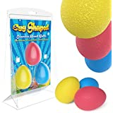 Wailea Fitness Hand Therapy Egg Balls Exercises - Squeeze Ball - Home Exercise Kits - Hand Grips,