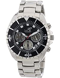 Ingraham Herren-Armbanduhr XL Syracuse Chronograph Quarz Edelstahl IG SYRA.1.611177