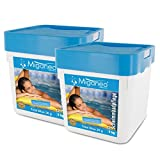 Miganeo® 2X 5kg Total Blue Tabs 20g 5in1 Multitabs chlor für Pool Schwimmbad Chlortabs Ph Minus Alegezid (10 kg)