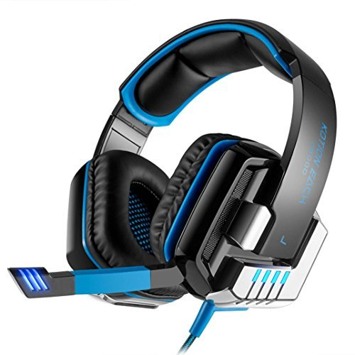 MChoice kotion Jede G8000Stereo Gaming Headset PC mit microUSB Cable Length: Approx. 2.1m/6.8ft Blau -