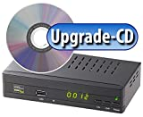 auvisio Zubehör zu Sat Receiver: Upgrade-CD zur Aktivierung der Aufnahmefunktion für DSR-460 (DVB S2 Receiver)