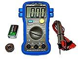 HoldPeak HP-39D Grau Kapazitätsmessgerät 2pF - 20mF automatische Anzeige-Beleuchtung Nullabgleich Messgerät Messleitung