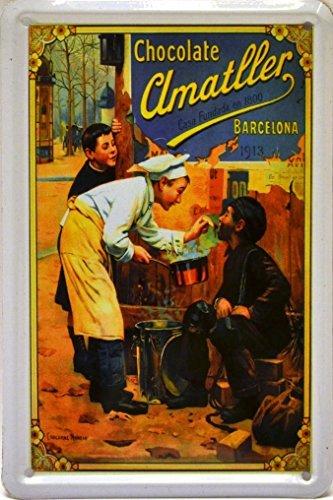 Art Escudellers Imán Cartel Poster publicitario de Chapa metálica co