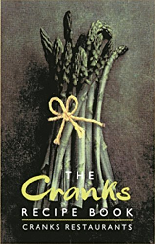 The Cranks Recipe Book: The Vegetarian Classics by David Canter (1993-07-01)