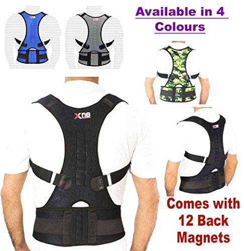 back-support-neoprene-magnetic-lumbar-shoulder-support-breathable-back-pain-belt-strap-injury-brace-