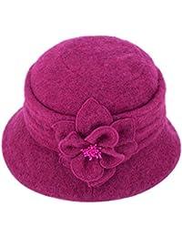 Amazon.it  cloche cappello - Rosa   Donna  Abbigliamento e812745a7233