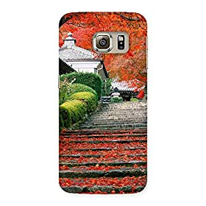 Stairs Garden Multicolor Back Case Cover for Samsung Galaxy S6 Edge Plus