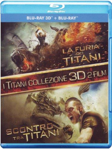 Kampf der Titanen & Zorn der Titanen (3D+2D) [Blu-ray] [IT Import]