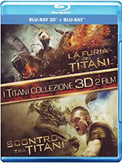 I Titani - Collezione 3D - La furia dei Titani + Scontro tra Titani (3D+2D);Wrath Of The Titans;I Titani - Collezione 3D - La furia dei Titani + Scontro tra Titani [Italia] [Blu-ray] (B0084282EW) | Amazon price tracker / tracking, Amazon price history charts, Amazon price watches, Amazon price drop alerts