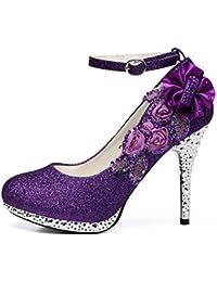 Moradas Zapatos Amazon Sandalias Complementos Es Y Xfvxtq EH29DI