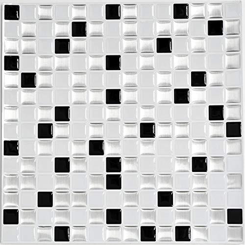Mosaikmatte Mosaikmatte Black