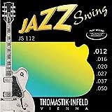 Jazz Swing JS112Seitensatz Flatwound .012-.050 -