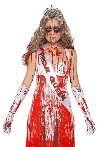 Smiffys Blutige Halloween Zombie Prom Queen Kit (Ideen Kostüm Prom Halloween Queen)