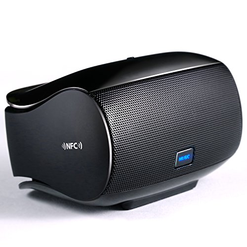 er / Soundbox | Dual Treiber Windbeat Bluetooth / NFC Speaker | Bluetooth V4.0 | AUX 3,5mm Klinke | 200mA Ladestrom | LED-Anzeige | tragbar ()