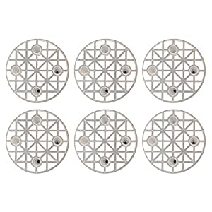 Excelsa 6 Presselli Salvagusto, Plastica, Bianco, 70 mm