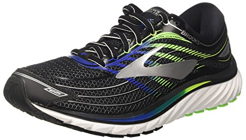 Brooks Glycerin 15, Scarpe da Running Uomo, Multicolore (Black/Electric Blue/Green), 40 EU