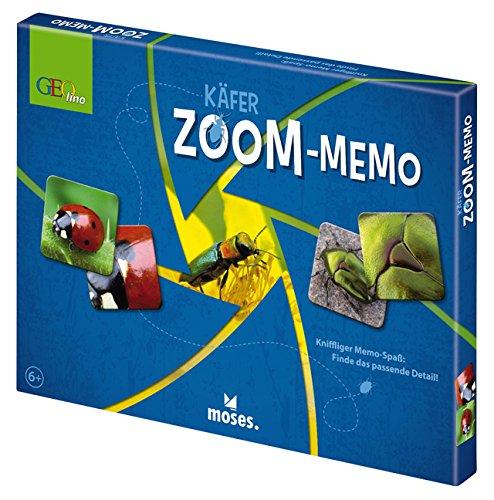 Moses 60038 Geolino Zoom-Memo Käfer -