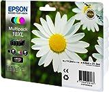 Epson Original T1816 Gänseblümchen, Claria Home Tinte, Text- und Fotodruck XL (Multipack, 4-farbig) (CYMK) Test