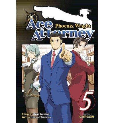 Phoenix Wright: Ace Attorney, Volume 5 (Phoenix Wright: Ace Attorney) (Paperback) - Common (Ace Attorney 5)