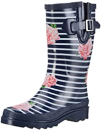 Beck Damen Stripes Gummistiefel