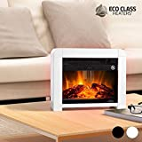 Thermic Dynamics Eco Class Heaters EF Estufa Eléctrica de Mica, Blanco, 33x28x16 cm