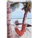 Gráficos y más Tropical playa hamaca de palmeras océano mag-Neato comprés armario refrigerador vinilo Puzzle imán Set