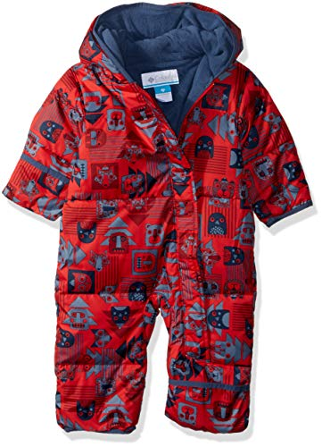 Columbia Kinder Snuggly Bunny Bunting Schneeanzug, red spark critter/dark mtn, 18/24 Monate, 1516331