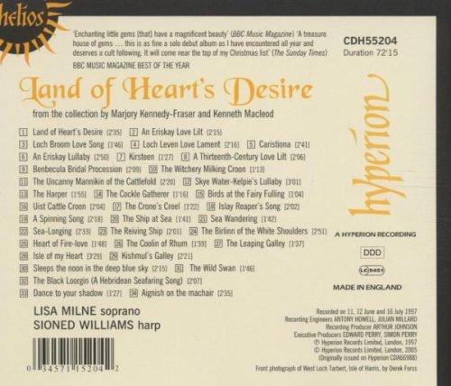 Land of Heart'S Desire : Mélodies Traditionnelles des Îles Hébrides