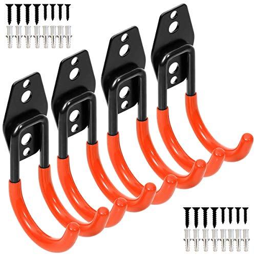 ahl Utility Haken, Wandhalterung Aufbewahrung Organizer Werkzeug Halter mit Anti-Rutsch-Beschichtung, weiß ()