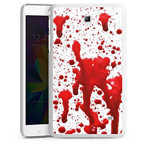 DeinDesign Samsung Galaxy Tab 4 7.0 Hülle Schutz Hard Case Cover Blut Halloween Gothic