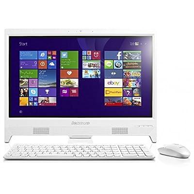 Lenovo C260 19.5-inch All-In-One Desktop PC (Pentium J2900/2GB/500GB/Windows 8.1/Integrated Graphics), White