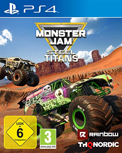 Monster Jam Steel Titans [Playstation 4] (Monster Truck Ps4)