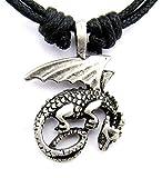 Cornwall Art Prints Halskette mit Drachenanhänger aus Zinn