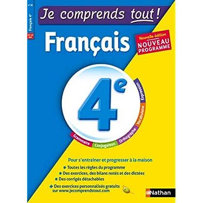 Je comprends tout - Français - 4e - Nouveau programme 2016