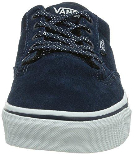 Vans W WINSTON SUEDE DRESS Damen Sneakers Blau ((Suede) dress b EXO)