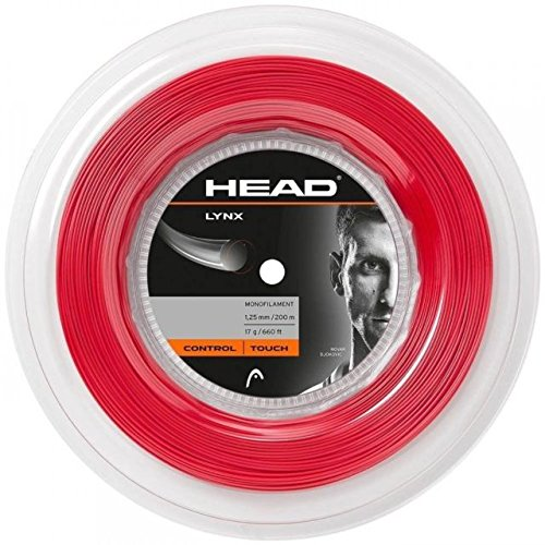 HEAD Tennissaite Lynx rot (500) 1,25