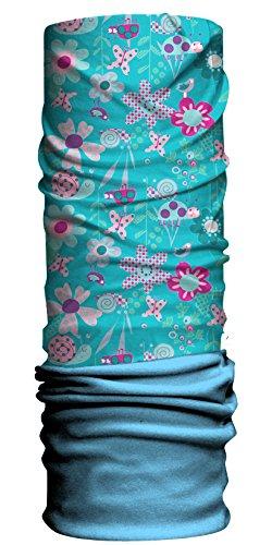 had-enfant-fleece-echarpe-multifonctionnel-avec-laine-polaire-bugz-blue-coleoptere-bleu