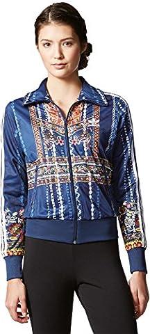 Damen Jacke adidas Originals Ciranderia Firebird TT Jacket (Adidas Firebird Jacke Blau)