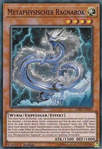 CIBR-DE023 - Metaphysischer Ragnarok - Super Rare - Yu-Gi-Oh - Deutsch - 1. Auflage - LMS Trading