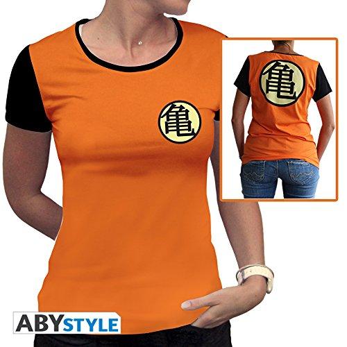 ABYstyle abystyleabytex332_ XS Dragon Ball Z Kame-Symbol T-Shirt für Frau (XS) (Ball-t-shirts Dragon Frau)