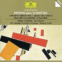 Schnittke: Concerto grosso 1, Quasi una sonata, Moz-Art à la Haydn, A Paganini